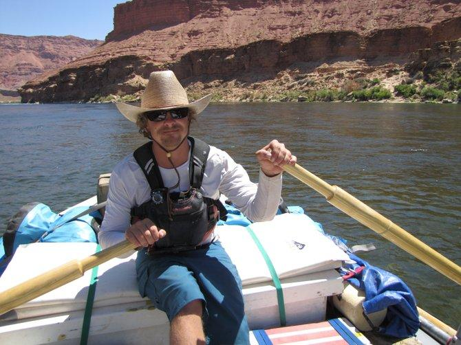 Randy Thompson is a boatman for Arizona Raft Adventures
