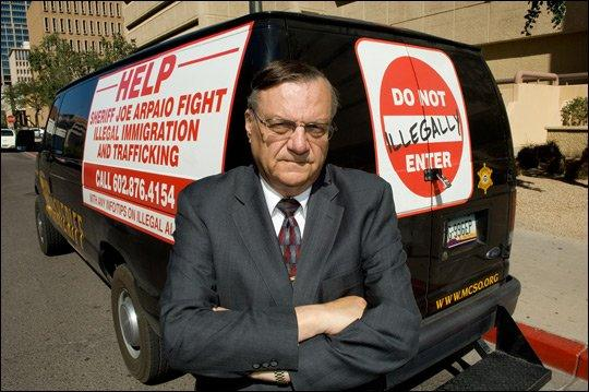 Maricopa County, AZ, Sheriff Joe Arpaio