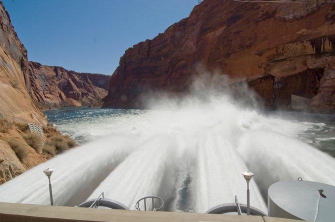 In May Interior Secretary Ken Salazar approved two high flows a year through 2020.