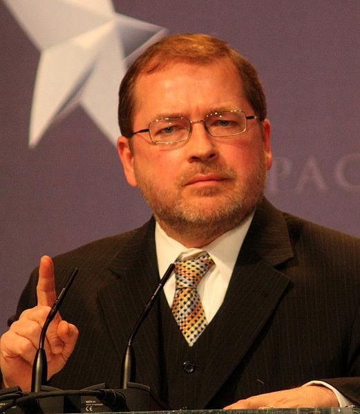 Grover Norquist at CPAC in Washington, D.C..