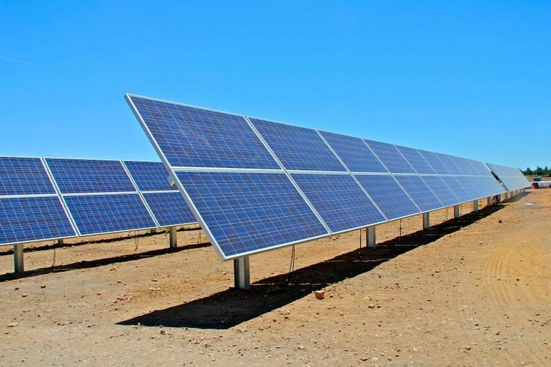Solar Array at the Wildcat Hill Wastewater Treatment Plant in Flagstaff, AZ