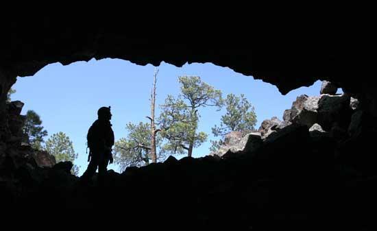 El Malpais National Monument.