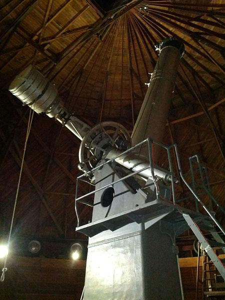 The Clark Telescope at Lowell Observatory in Flagstaff, AZ