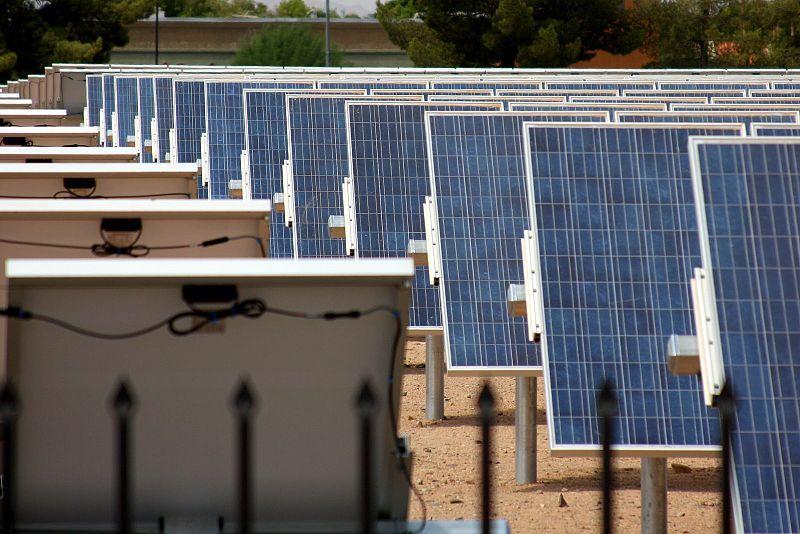 Solar Array at Arizona State University