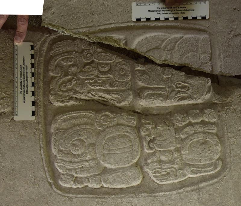 A broken glyph on Panel 4