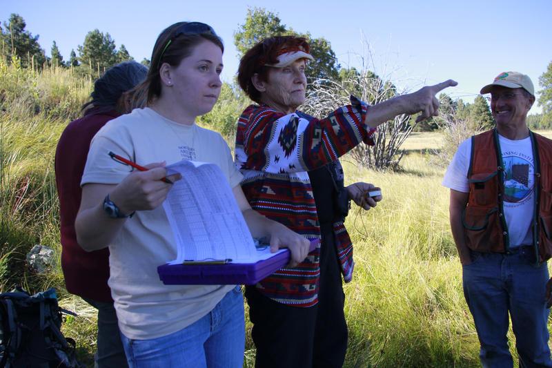 Citizen scientists in training