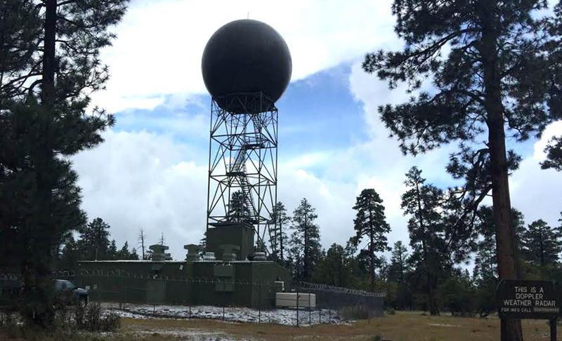 Earth Notes Doppler Radar KNAU Arizona Public Radio - Weather doppler az