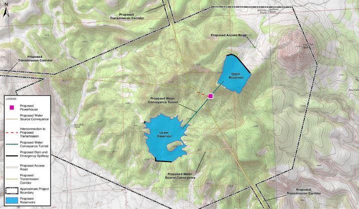 New Developer Investigates Pumped Storage Project in Big Chino