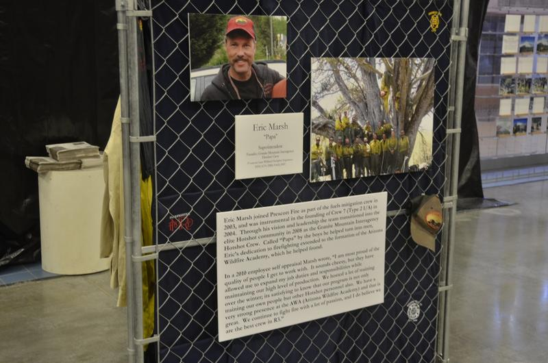 Tributes to each of the 19 Granite Mountain Hotshots include biographies and photos. Eric Marsh was the founder and superintendent of the crew.