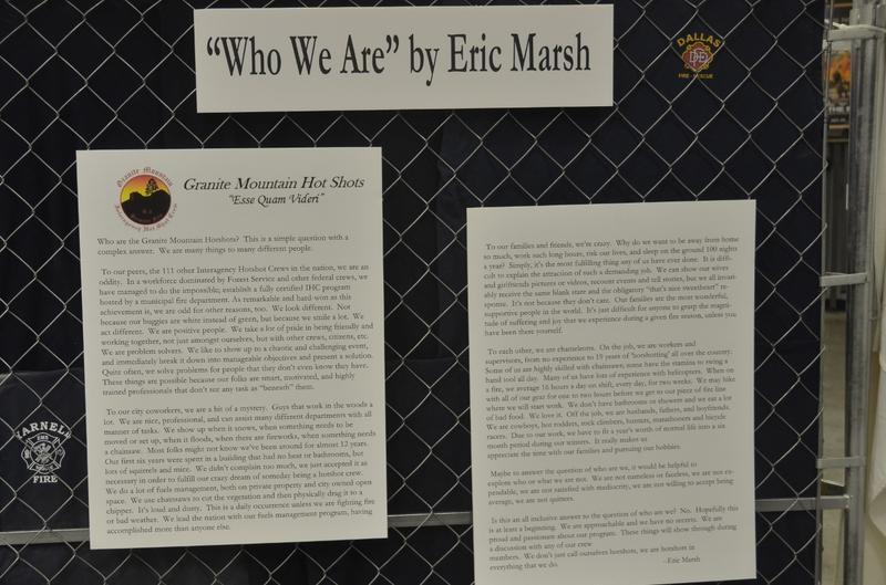 A history of the Granite Mountain Hotshots written by Eric Marsh.