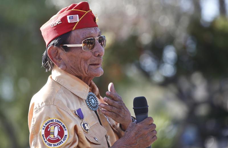 navajo code talkers knau arizona public radio