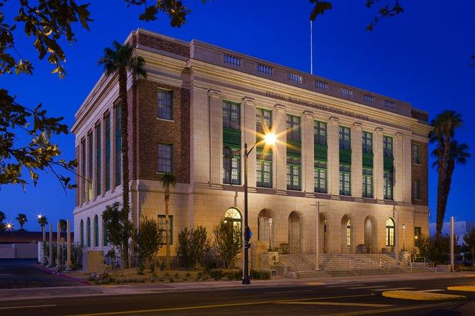 The building that houses the museum used to be a federal courthouse with its own links to organized crime.