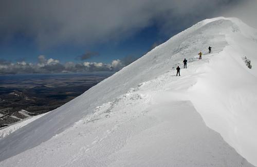 Zelt San Marino Plus 8 High Peak : Avalanche danger high on san francisco peaks after heavy