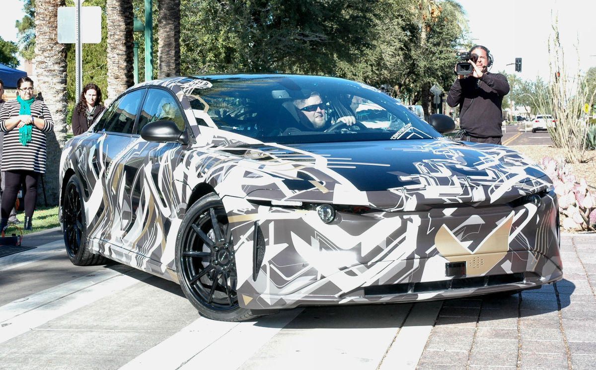California-Based Lucid Motors Setting Up Electric Car Assembly Plant in Arizona