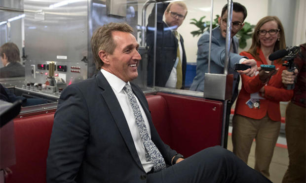 Flake Won't Rule Out Potential Presidential Bid In 2020