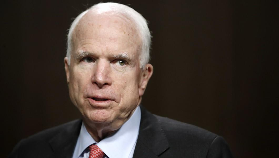 John McCain blasts Trump for congratulating Putin on winning 'sham election'