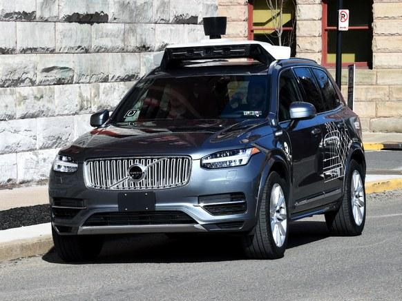 Arizona governor prohibits Uber's self-driving cars from running on public roads