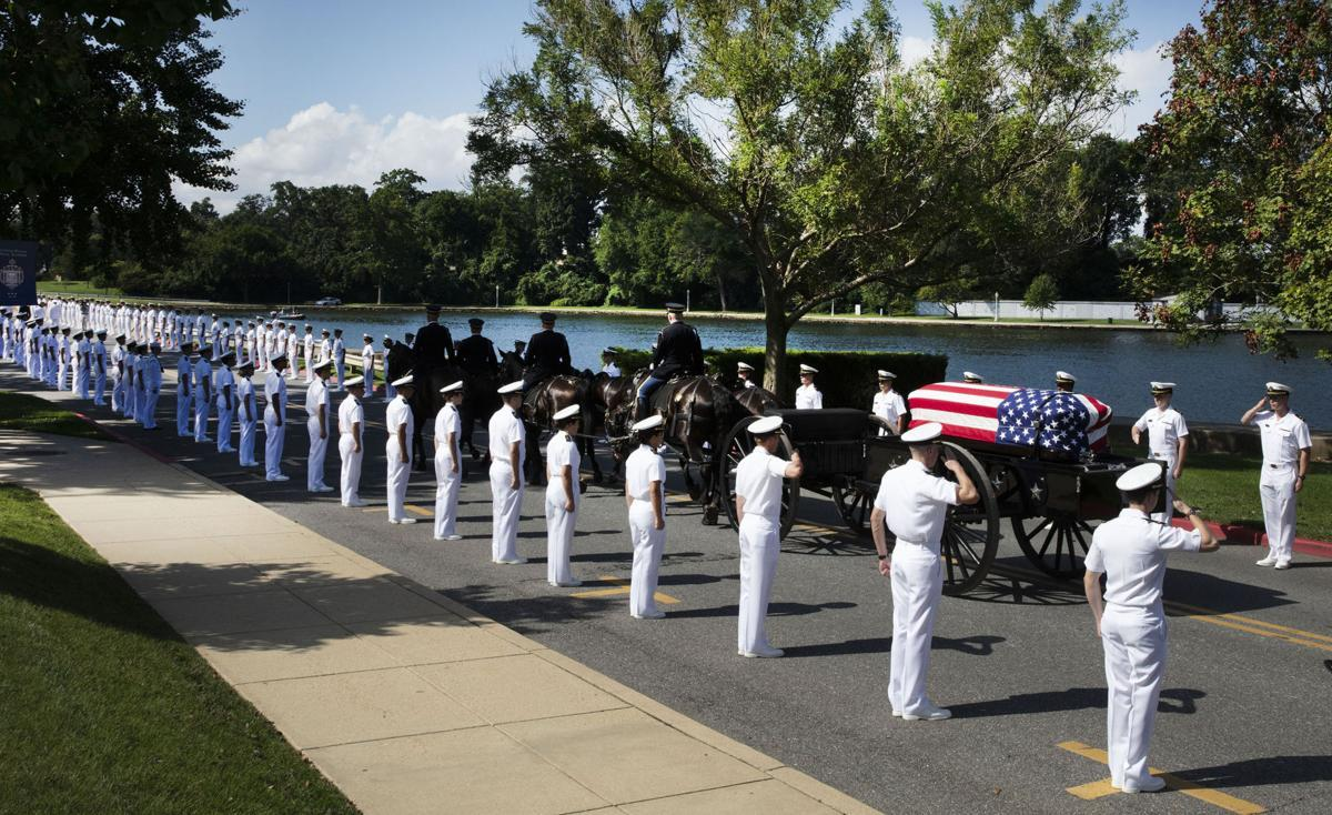 Private Burial Service Concludes Week of McCain Tributes