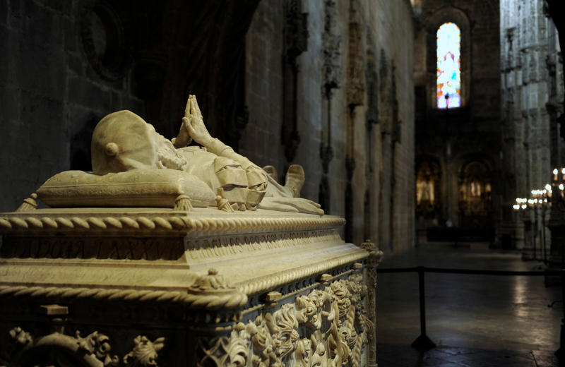 The tomb of Portuguese explorer Vasco de Gama