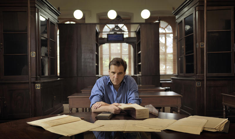 Niall Ferguson in the Ottoman Archives.