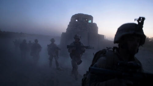 Marines of Echo Company 2nd Battalion, 8th Marine Regiment.