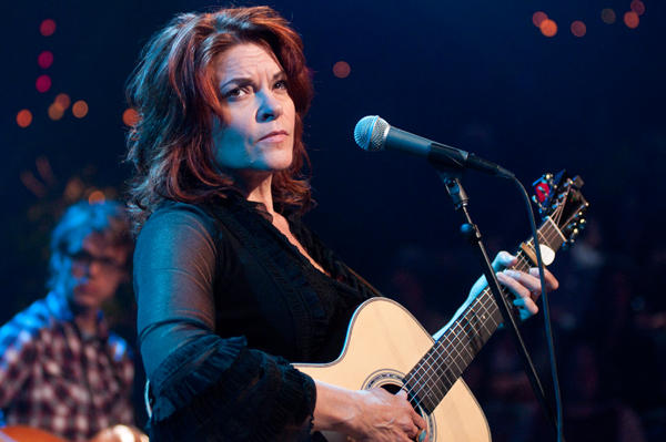 Rosanne Cash performs songs from her C&W album The List.