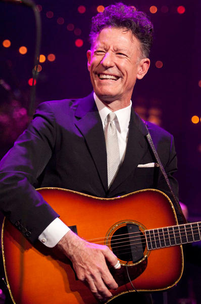 Lyle Lovett performs on Austin City Limits.