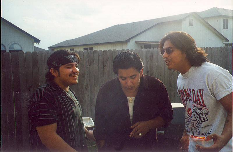 Pictured (l-r): Ringo, Jojo and Henry Garza of Los Lonely Boys.