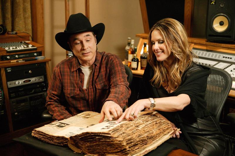 Country Music star Clint Black found this book at an antique store. He's intrigued by the page upon page of wanted posters.