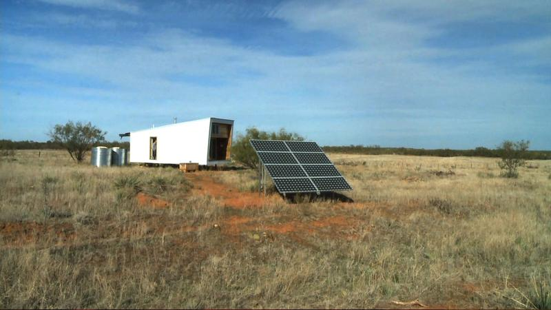 TTU's Sustainable Cabin.