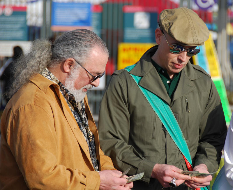 From left to right: MARKET WARRIORS pickers John Bruno and Bob Richter