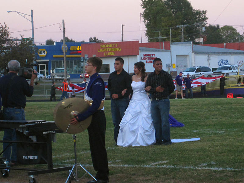 The daughter of immigrants becomes the first Hispanic homecoming queen in Monett, Missouri.