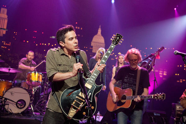 M. Ward performs for Austin City Limits.