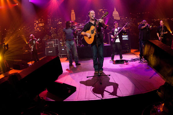 Rock superstars the Dave Matthews Band perform hits and songs from their album Big Whiskey and the GrooGrux King.