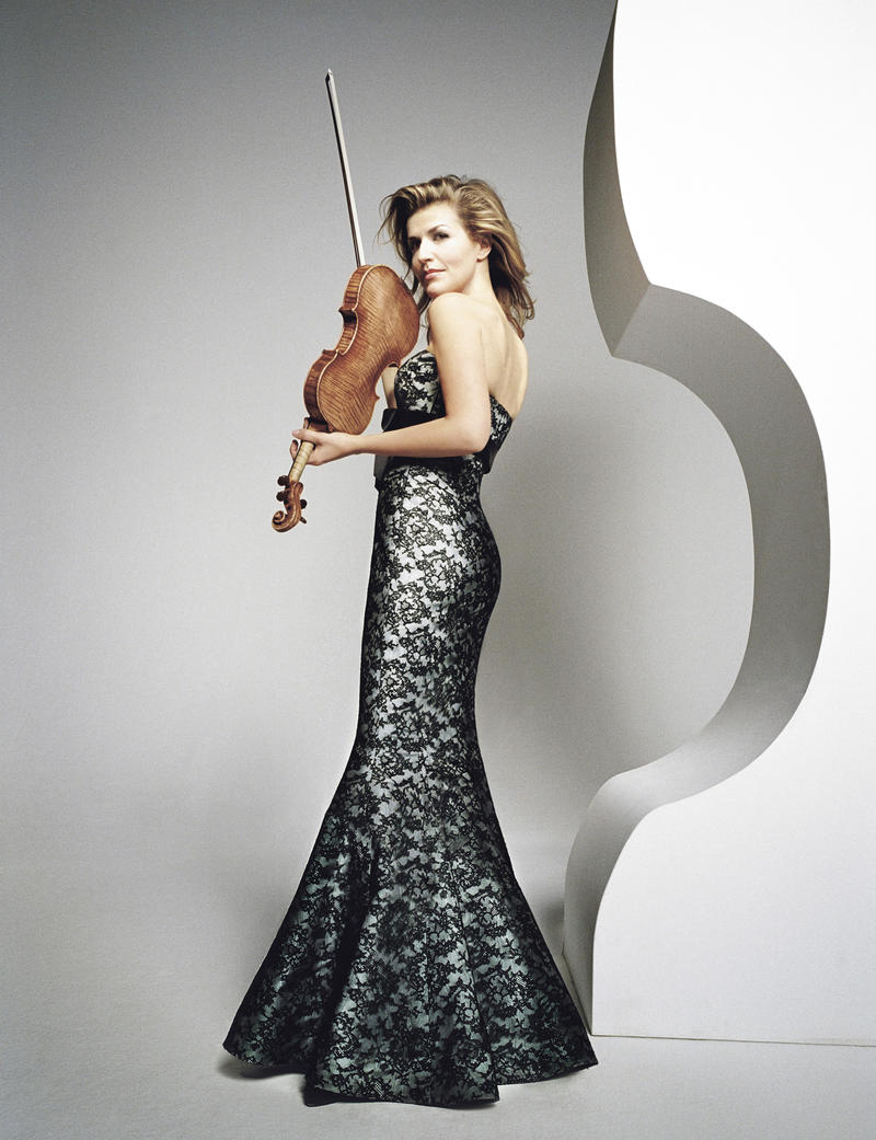 "GREAT PERFORMANCES ""Tanglewood 75th Anniversary Celebration"", Anne-Sophie Mutter."