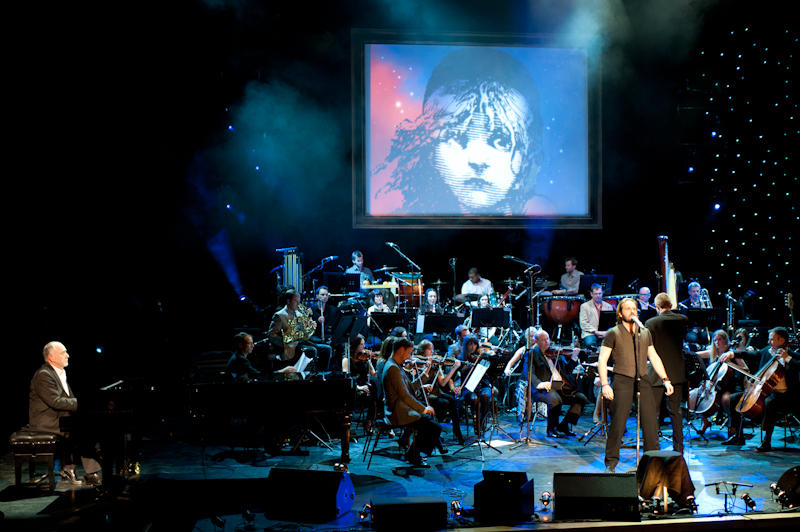 "Alfie Boe performs ""Bring Him Home"" from Les Misérables, accompanied by Claude-Michel Schönburg, one of the writers of the score."
