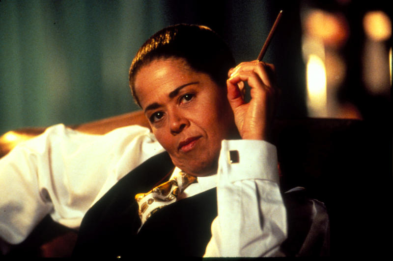 "GREAT PERFORMANCES ""Twilight: Los Angeles"", Anna Deavere Smith as Cornel West."
