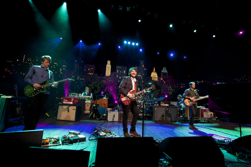 Modern rock band Wilco returns to AUSTIN CITY LIMITS.