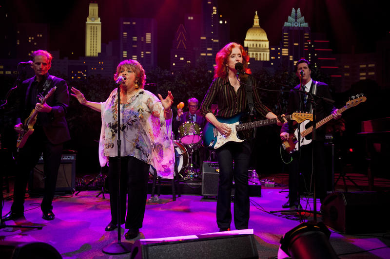 Bonnie Raitt and Mavis Staples showcase classic R&B, blues and pop.