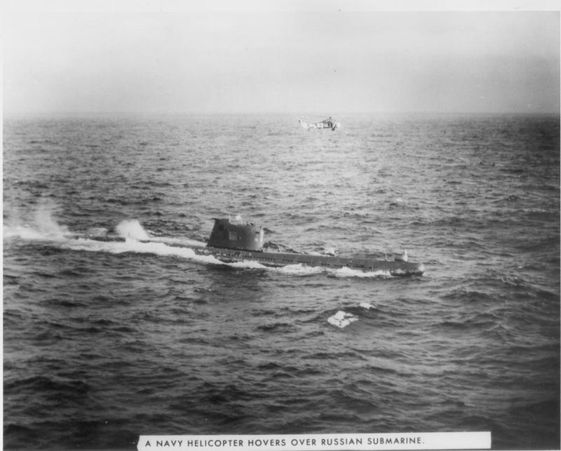 Photograph of Soviet submarine B-59