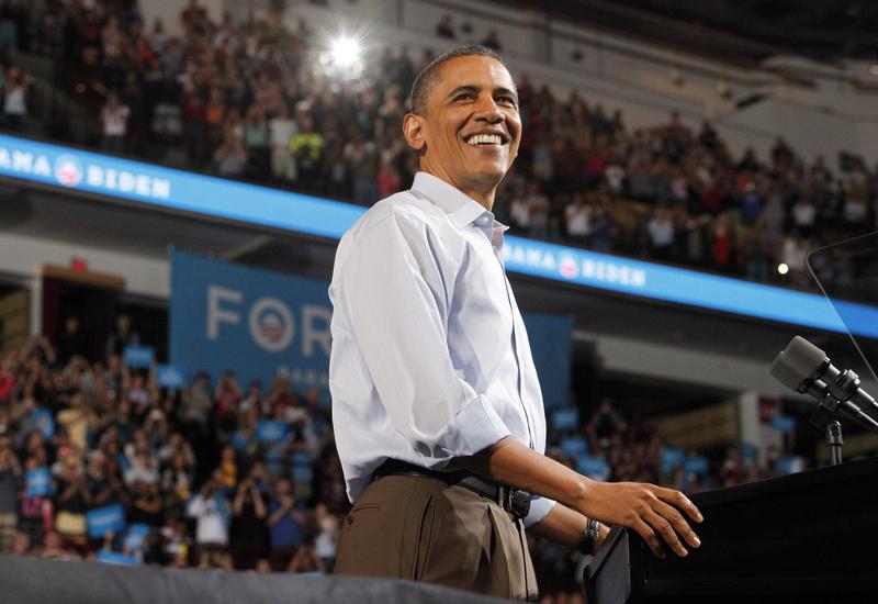 President Barack Obama, 2012