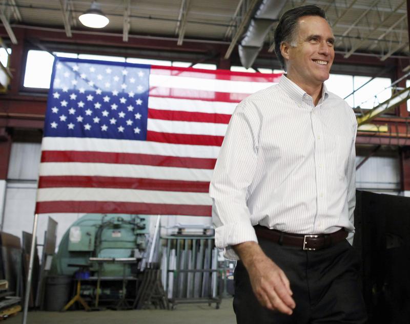 Former Massachusetts Gov. Mitt Romney, 2012
