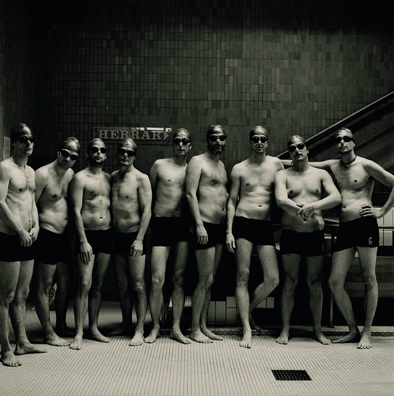Stockholm Swim Art Gents Group photo.