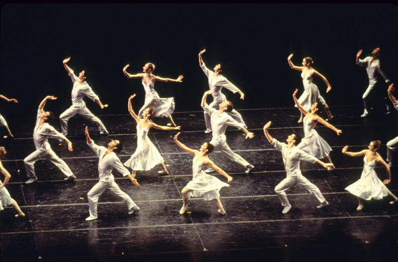 """Sometimes It Snows in April,"" choreographed by Laura Dean, from the Joffrey Ballet's ""Billboards"" rock ballet set to the music of Prince."
