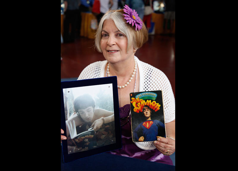 A Corpus Christi guest and her Beatles memorabilia.