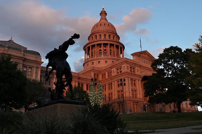 Austin capital building.