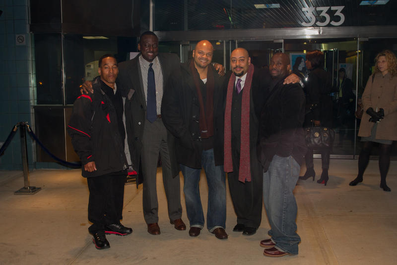 Left to right: Korey Wise, Yusef Salaam, Kevin Richardson, Raymond Santana and Antron McCray taken Nov 15, 2012.