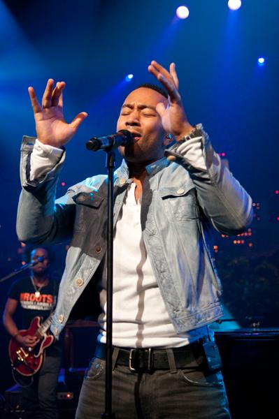 Innovative hip-hop collective, The Roots, backs John Legend (pictured), the Grammy-winning soul singer on a set of 70s soul covers and originals.