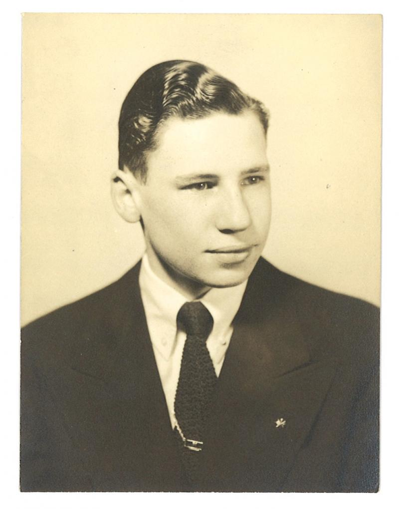 Mel Brooks school photo
