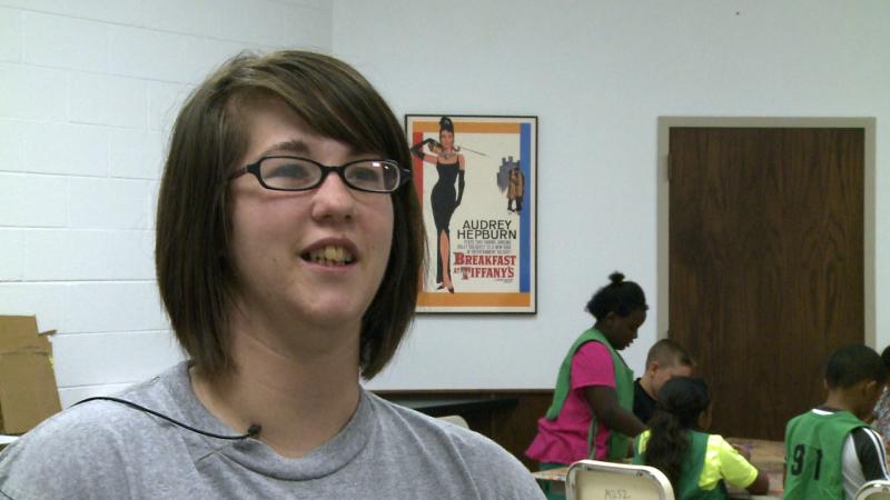 Cynthia Buster, a general education intern at Tech.